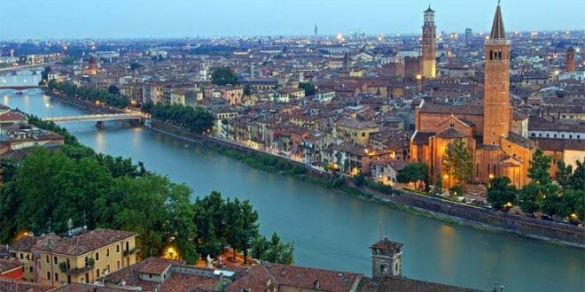 Un bel panorama di Verona