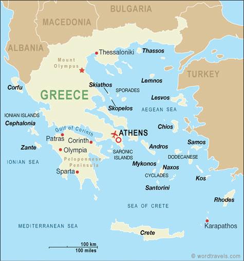 Cartina Della Grecia Con Isole.Pasqua In Grecia Consigli Per Organizzare La Vacanza 2021