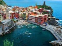 Un suggestivo panorama delle Cinque Terre (Vernazza)
