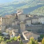 Un classico borgo in Umbria, patria degli agriturismo