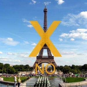 Parigi: 5 cose da evitare