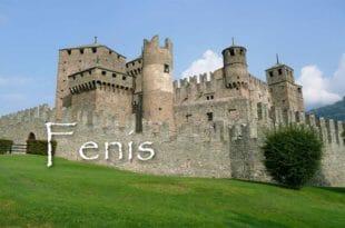 Il castello di Fenis in Val d'Aosta