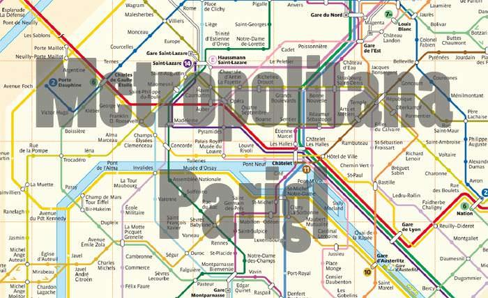 Cartina Centro Parigi.Metro Di Parigi Come Si Usa Mappa Orari E Biglietti 2021