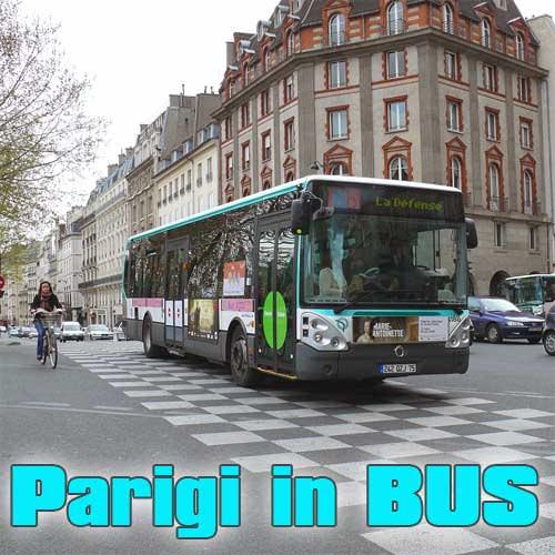 Tutto sui bus di parigi cartina delle linee biglietti for Parigi non turistica