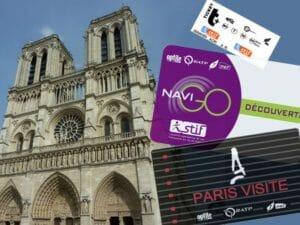 Paris Visite, Navigo, biglietti T+