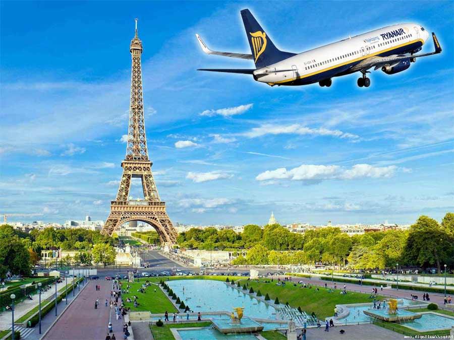 voli a basso prezzo per parigi