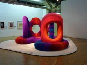Opere di arte moderna al Centro Pompidou