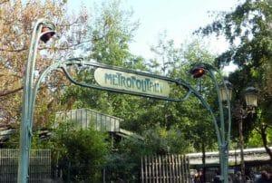 Metropolitana di Parigi art nouveau