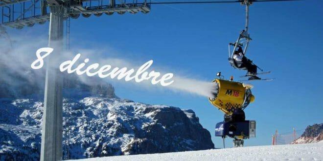 8 dicembre a sciare
