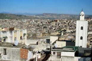 Fes, Marocco: panorama della medina