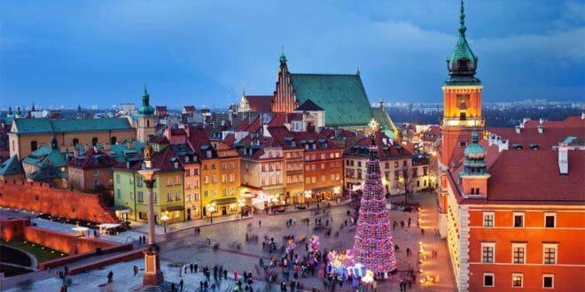 Capodanno a Varsavia e Natale