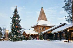 Rovaniemi al villaggio di Babbo Natale