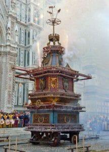 Firenze: lo scoppio del carro
