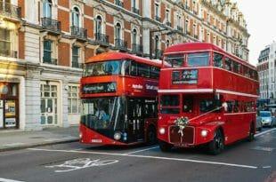 Londra: i bus a due piani