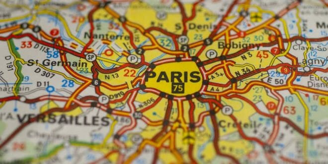 Cartina Di Parigi E Dintorni.Le 8 Zone Tariffarie Di Parigi Per I Trasporti Metro E Rer 2021