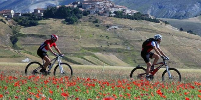 Umbria in bicicletta