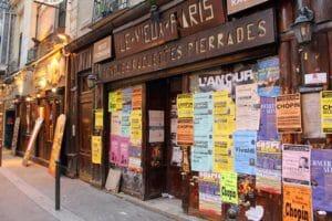 Negozi tipici di Parigi