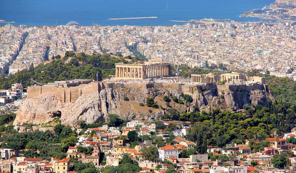 Atene itinerario turistico con le cose da vedere 2018 for Ristoranti ad atene