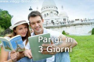 Itinerario per Parigi in 3 giorni