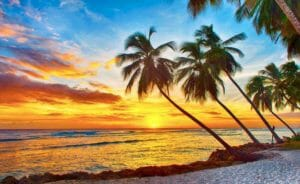 Pasqua a Barbados, Caraibi