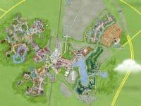 Disneyland Paris mappa