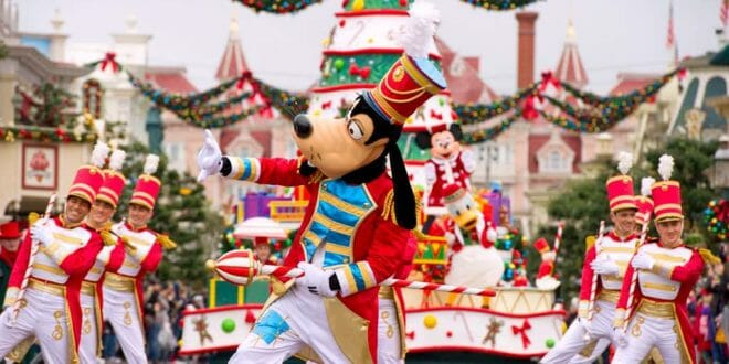 Disneyland: la parata di Natale