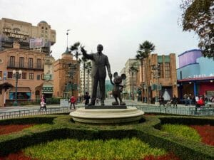 Movieland Studios a Disneyland