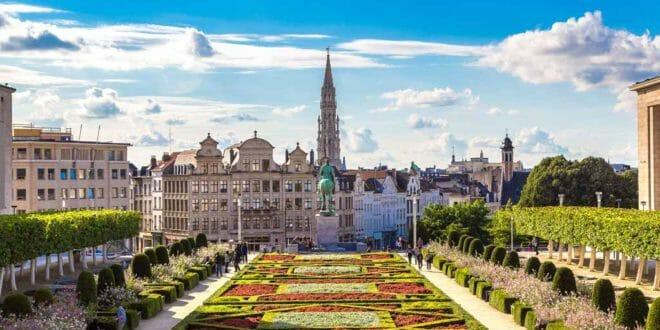 Bruxelles, la piazza