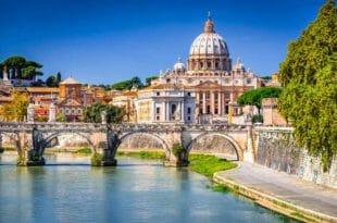 Roma, uno scorcio sul Tevere