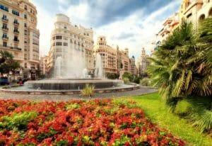 Valencia, una delle piazze principali