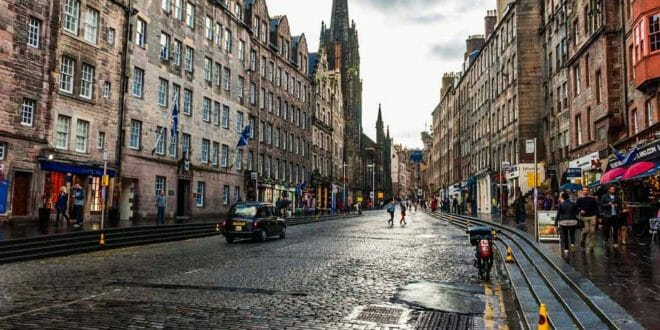 Pasqua ad Edimburgo