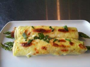 Specialità parigine: omelette