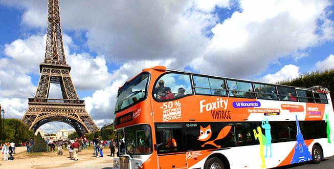Foxity Bus Turistici Parigi