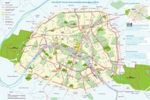 Piste Ciclabili a Parigi, la mappa
