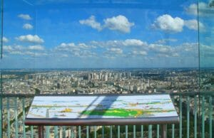 Tour Montparnasse, il panorama