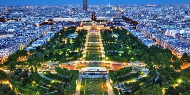 Torre Eiffel, il panorama dall'alto