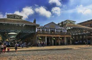 Covent Garden, l'ingresso del mercato