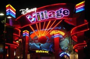 Disney Village, l'ingresso