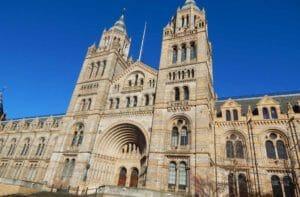 Museo Storia Naturale di Londra, l'edificio