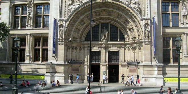 Victoria e Albert Museum, l'ingresso