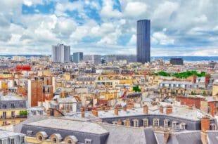 Quartiere Montparnasse, vista dall'alto