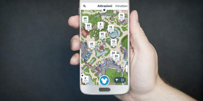 App Disneyland Paris: come funziona?