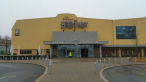 Harry Potter Studios, l'ingresso