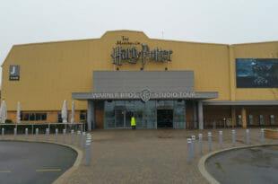 Harry Potter Studios, l'ingresso