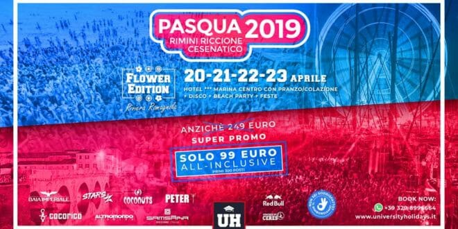 Viaggio Evento di Pasqua con University Holidays