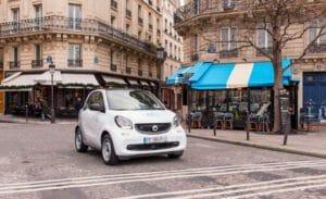 Car Sharing auto elettriche a Parigi