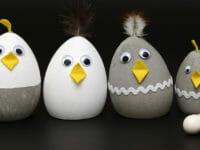 Uova Pasqua, pulcini